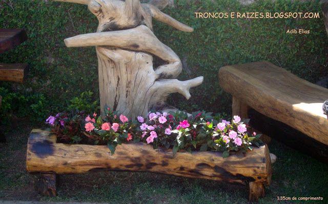 1000+ images about Troncos e Raizes on Pinterest  Mesas, Madeira and