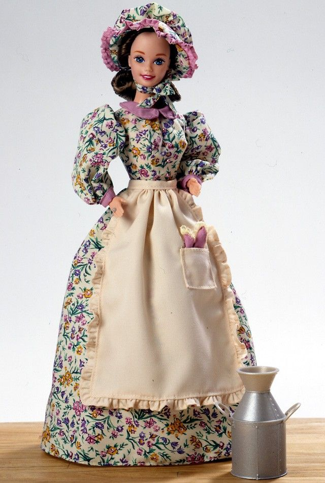the history of the barbie doll Despite what aqua said in the barbie girl song, they are not made of plastic not totally history proves that dolls have always been and always will be creepy.