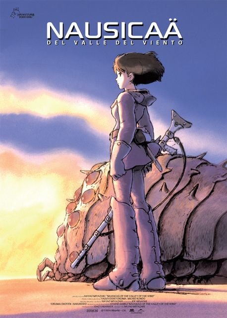 Nausicaä del valle del viento  #Miyazaki http://cuchurutu.blogspot.com/2014/05/felizlunes-las-peliculas-de-hayao.html