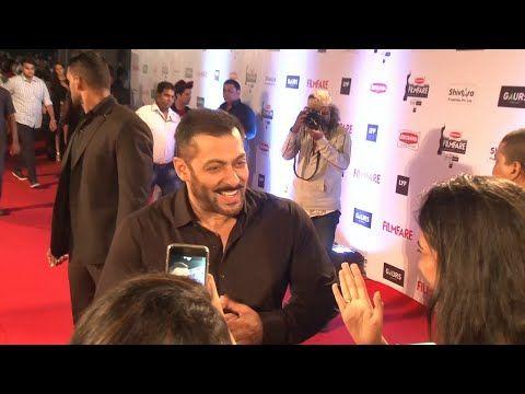 Salman Khan at the red carpet of 61st Britannia Filmfare Awards 2016.