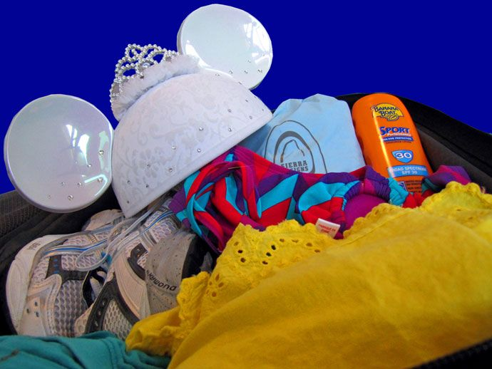 A Walt Disney World honeymoon packing guide ... although it's not so different from a non-honeymoon packing guide sans kids!