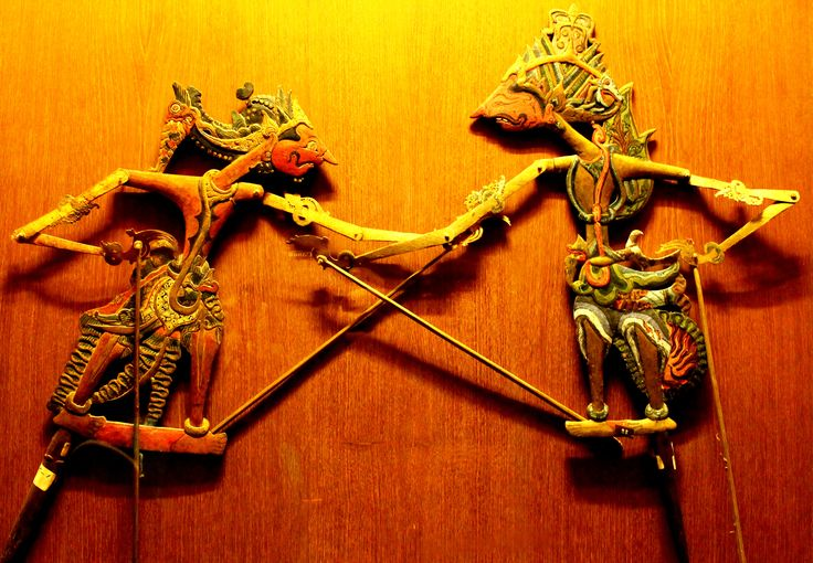 Wayang, The Beauty Of Indonesia. (Museum Of Wayang, Jakarta)