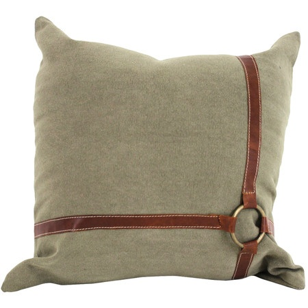 I pinned this Cheval Pillow from the Import Collection event at Joss and Main! DIYers: Could be done with ribbon, bling ribbon by the roll or upholstery fringe. Fun!