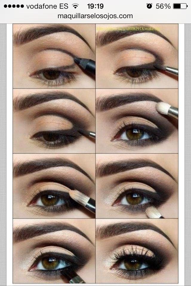 maquillaje de ojos paso a paso para ojos pequeños , Buscar con Google