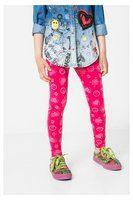 Desigual - Woman - Girls? fuchsia leggings. - Cross - Size L