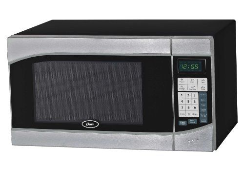 Oster OGH6901 0.9 Cubic Feet Digital Microwave Oven, Stainless/Black http://kitchenammo.com/store/kitchen/oster-ogh6901-0-9-cubic-feet-digital-microwave-oven-stainlessblack/