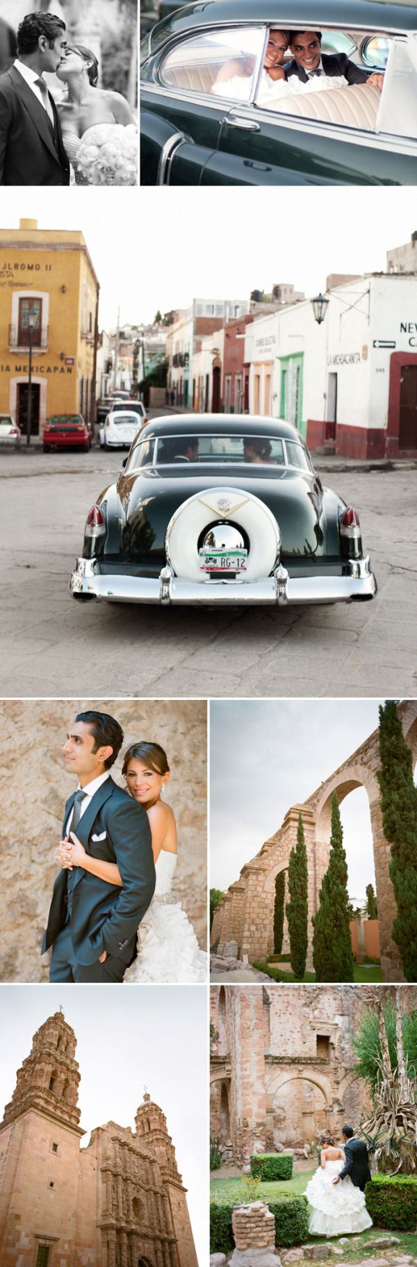 Zacatecas Wedding - When I was like 10 years old I swore I would get married in this place!  Quinta Real Zacatecas Hotel.