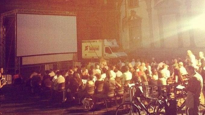 #Cinema all'aperto in Piazza SS Annunziata per tutta l'estate