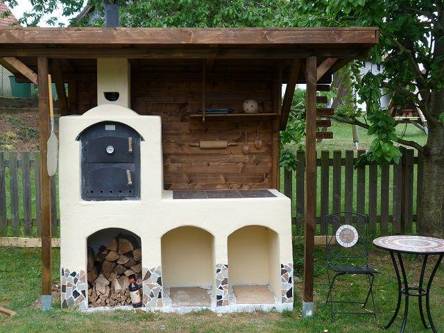 Ramster´s Holzbackofen - Holzbackofen Flammkuchenofen und Brotbackofen - Bilder von umbauten / eingebauten Öfen