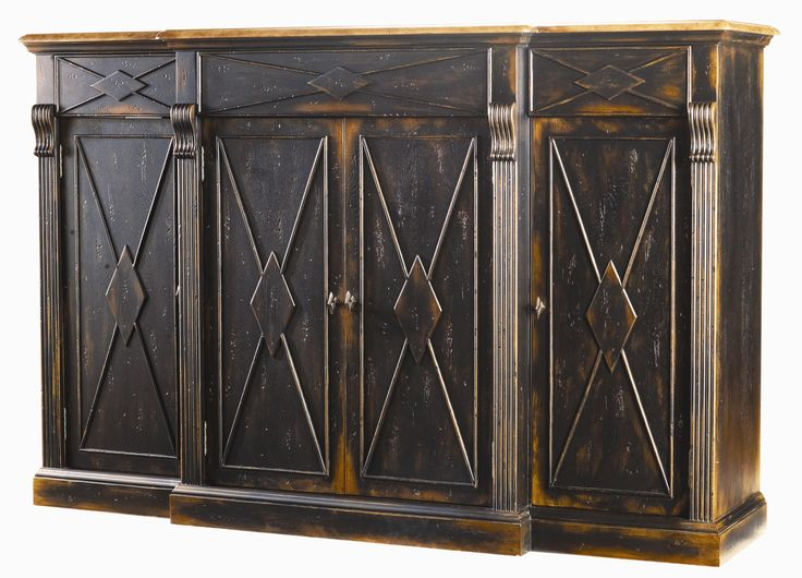 Sanctuary 4 Door, 3 Drawer Credenza By Hooker Furniture. Dining Room  CabinetsDining ...