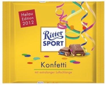 RITTER SPORT Fake Schokolade Konfetti