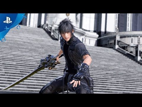 Final Fantasy Xv Launches On Ps4 And Xbox One Final Fantasy Xv