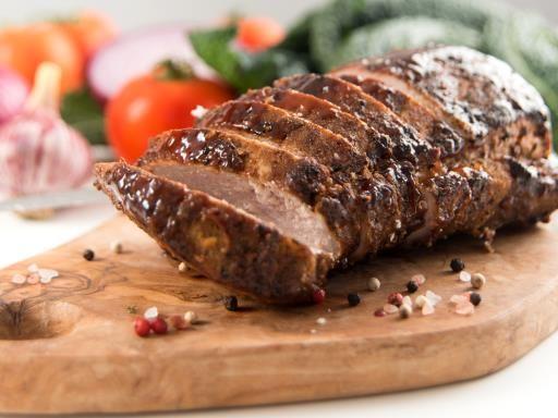 Rôti de porc caramélisé aux échalotes : Recette de Rôti de porc caramélisé aux échalotes - Marmiton