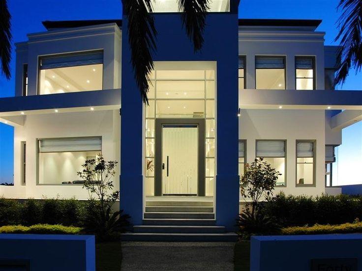 10 best private villa images on pinterest design homes for Exterior facade design