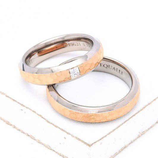 HYACINTH WEDDING RINGS IN 14K GOLD By EQUALLI.com