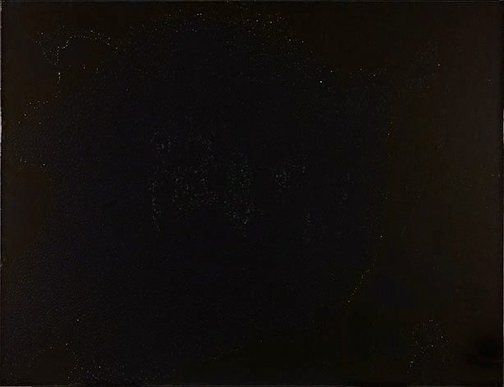 Dale Frank brings new depth to all forms of black: synthetic polymer paint and varnish on canvas