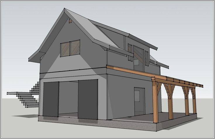 The decorative plans to build garage with living quarters for Garage designs with living quarters