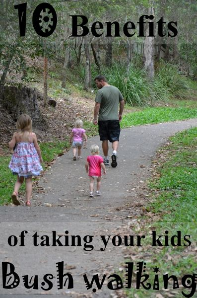 Bushwalking activity