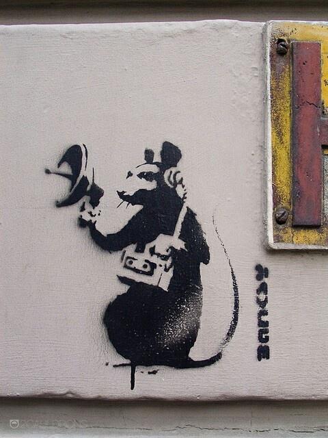 1000 ideas about graffiti artists on pinterest graffiti for Banksy rat mural