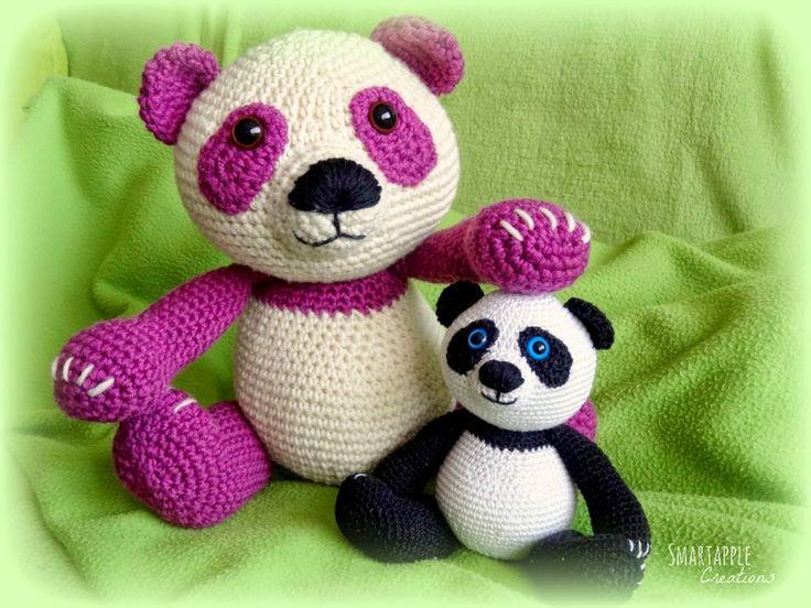 Amigurumi Panda Bear Crochet Pattern : Best crochet i like panda bears images