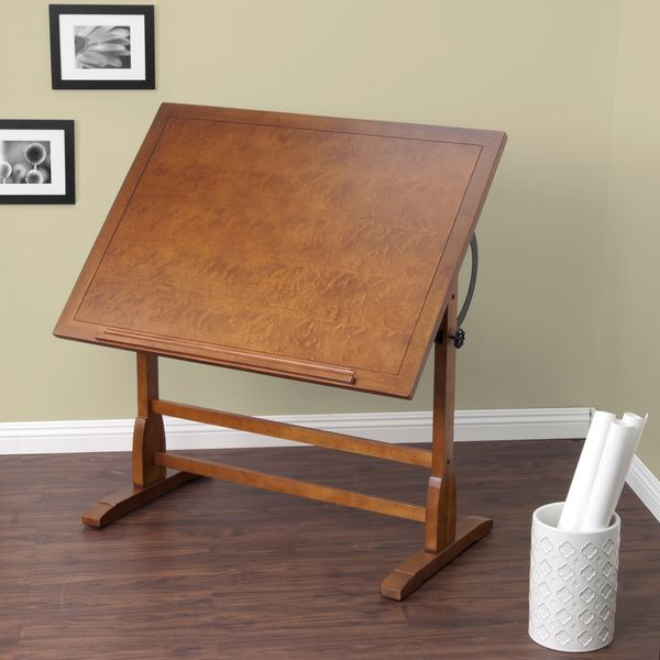 Studio Designs 42-inch Vintage Oak Drafting Table - 15642929 - Overstock.com Shopping - The Best Prices on Studio Designs Drafting Tables