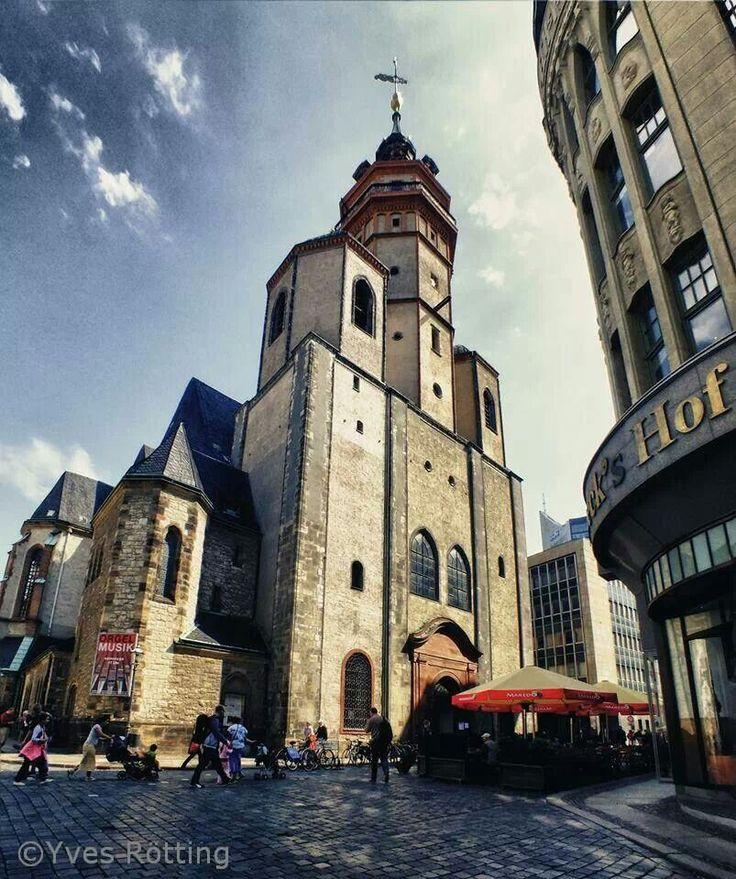 Nikolaikirche. Leipzig.