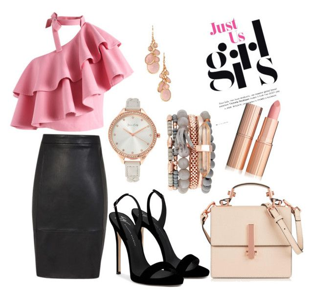 """""""Girl 👩💼"""" by orugamariposa on Polyvore featuring moda, Chicwish, Giuseppe Zanotti, Jessica Carlyle, Avon y Kendall + Kylie"""