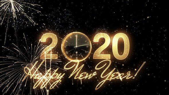 Glamorous New Year Countdown Clock 2020 New Years Countdown Countdown Clock Countdown