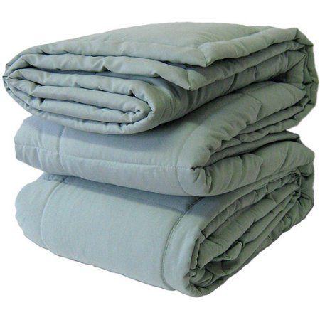 Canopy Microfiber Blanket, Green