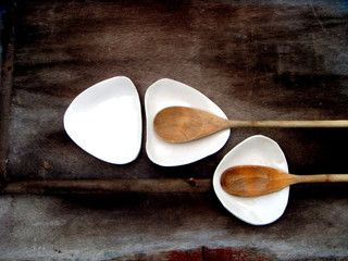 Amorphous Shape Ceramic Spoon Rest by Bini - contemporary - kitchen products - by Etsy