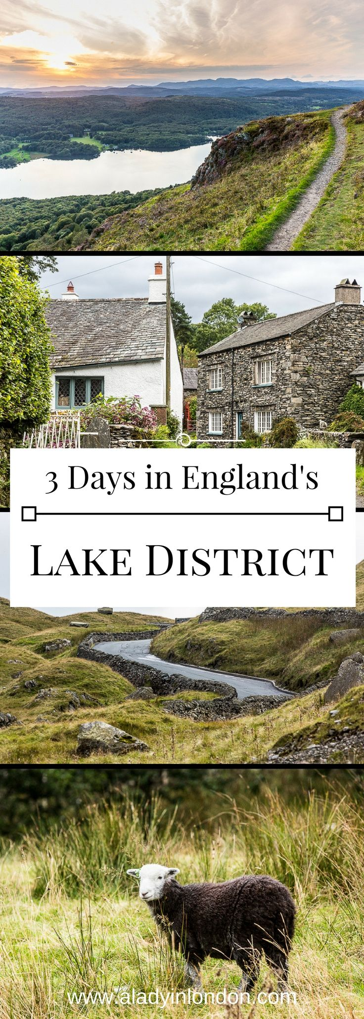 How to spend 3 incredible days in the Lake District, England. From the pretty villages to the lovely views, this part of Cumbria is a gem. #lakedistrict #england