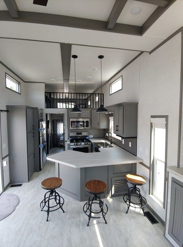 2020 Woodland Park Timber Ridge 260 Park Models Rv For Sale In Spokane Washington Rvt Com 266070 In 2020 Small House Decorating Tiny House Interior Model Homes