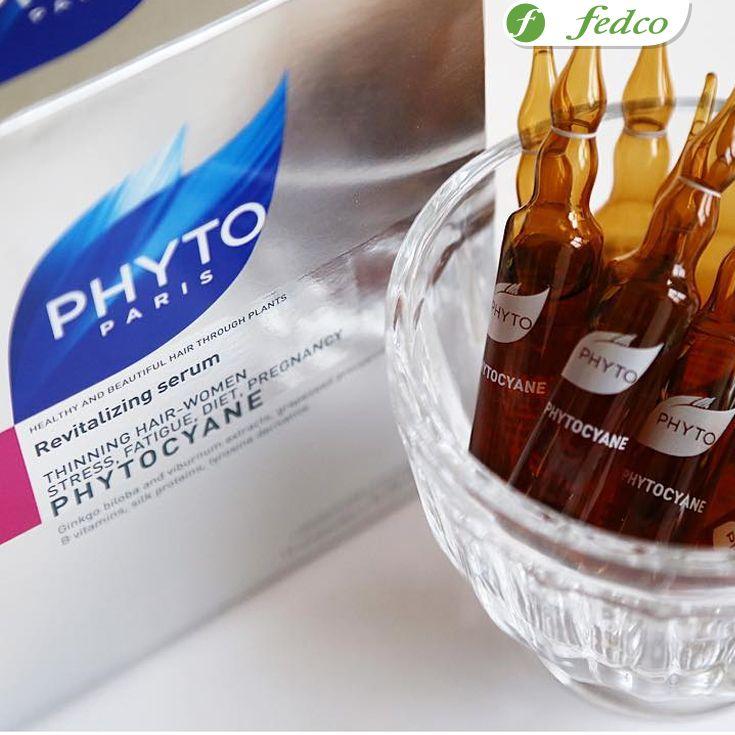 #TemporadaDeEmociones Utiliza las ampolletas Phytocyane para prevenir la pérdida de cabello causada por el estrés, el cansancio, la dieta o el embarazo. ¡Recupera la vitalidad de tu cabello!