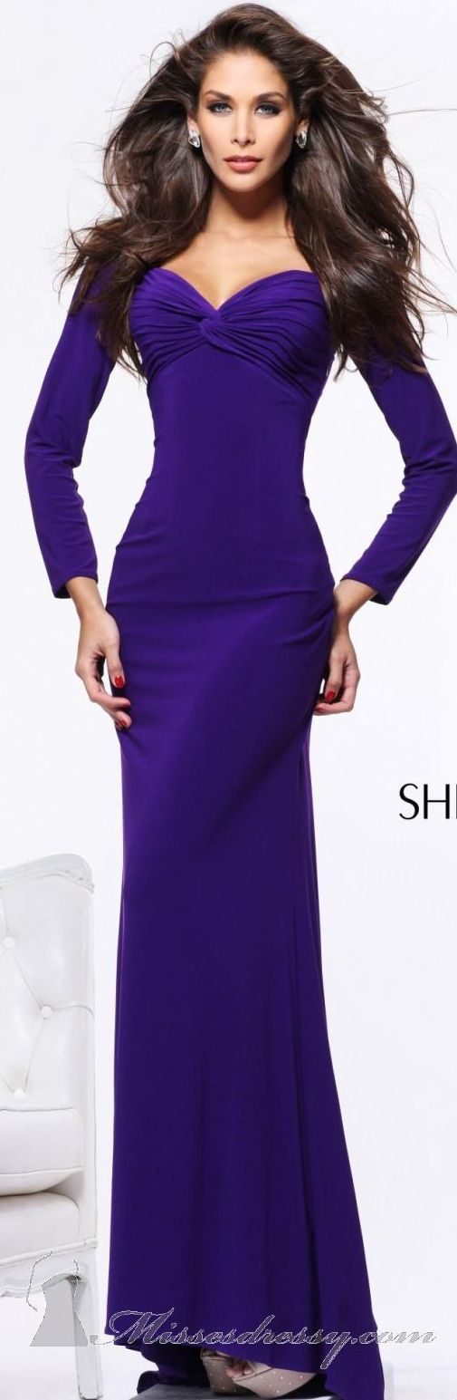 Sherri Hill Purple Gown
