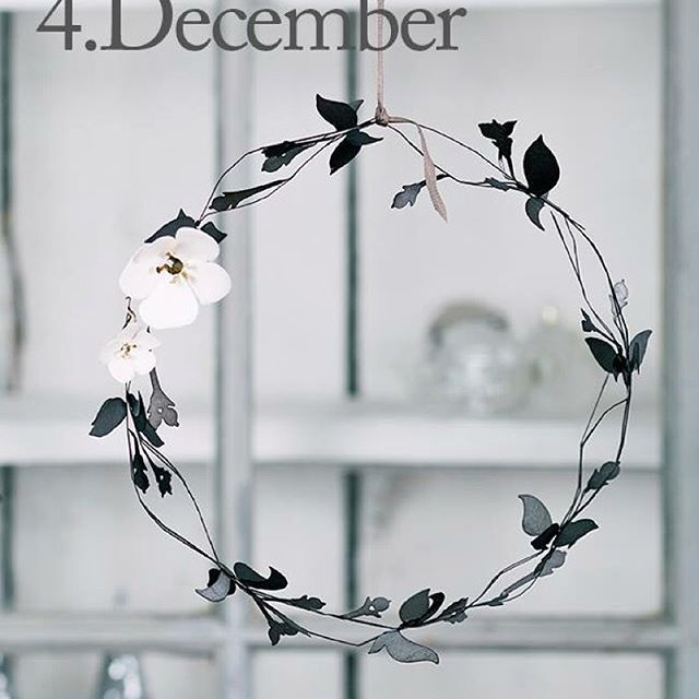 Friday the 4 of December. The design of the day is our beautiful Snowberry Wreath. Like our Facebook page & the post of the day and you might be the lucky winner! The Snowberry Wreath is on offer today in our web-shop www.jettefroelich.dk and costs only 99,- but only today! (Normal price 199,-) #christmascalender #christmasgiveaway #snowberrywreath #facebook #jettefrölich #jettefroelich #jettefrölichdesign #jettefroelichdesign #danishdesign #scandinaviandesign