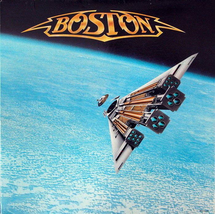 painting - Boston Album Cover ARt by John