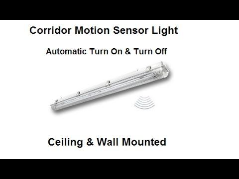 Working Of Corridor Motion Sensor Light from Steinel Germany