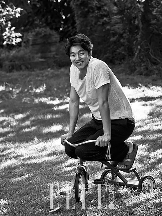 Gong Yoo is the Ideal Homebody Boyfriend in 'Elle Korea' | Koogle TV