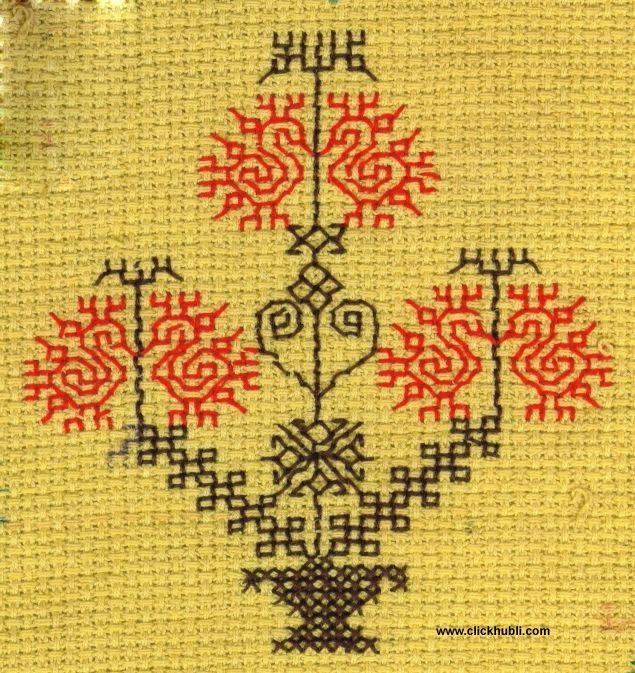 Kasuti - Tree with Birds