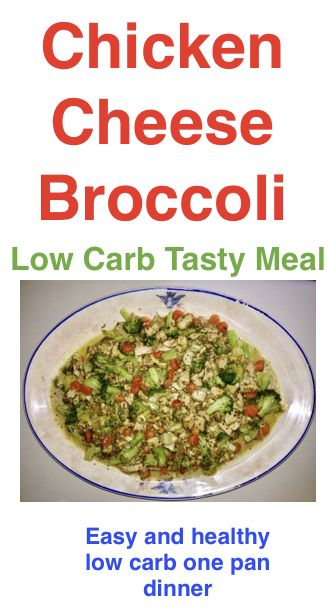 Fast and healthy low carb one pan dinner meal