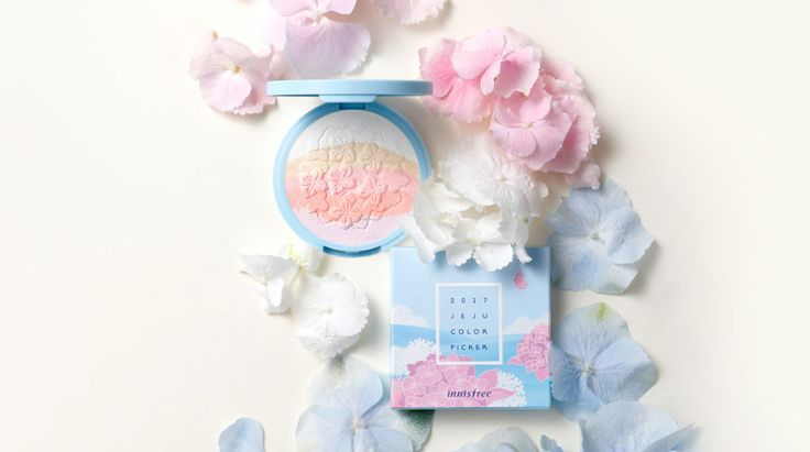 innisfree 2017Jeju Colour Picker Collection - Blooming Highlighter