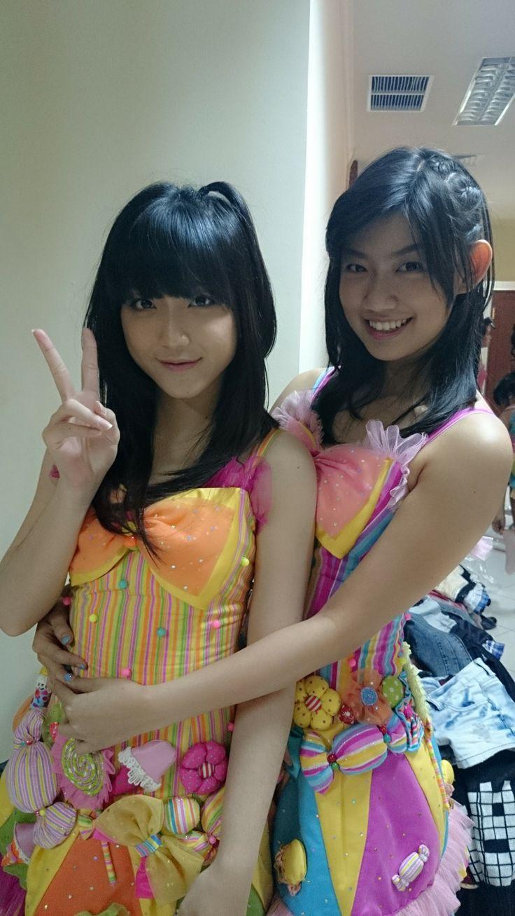 Sinka Juliani, Jennifer Hanna #JKT48 #AKB48