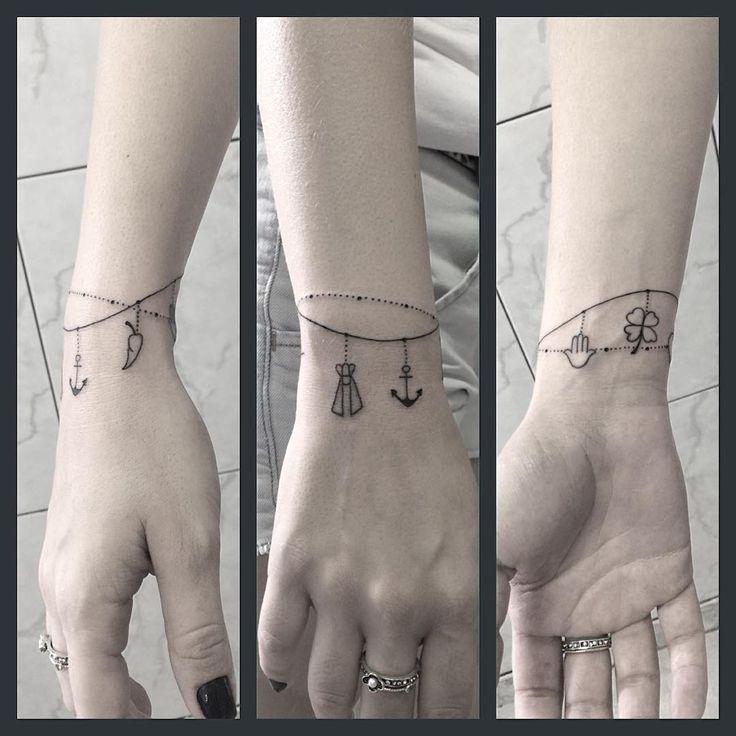 #yukiotattoo #japasearchtattoo #searchtattoo #studio #pinheiros #tattoo #tattoosp #tatuagem #pulseira #santinha #ancora #pimenta #trevo #yukio Tatuagem da Carol
