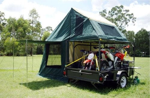motorcycle camping trailers - Google Search