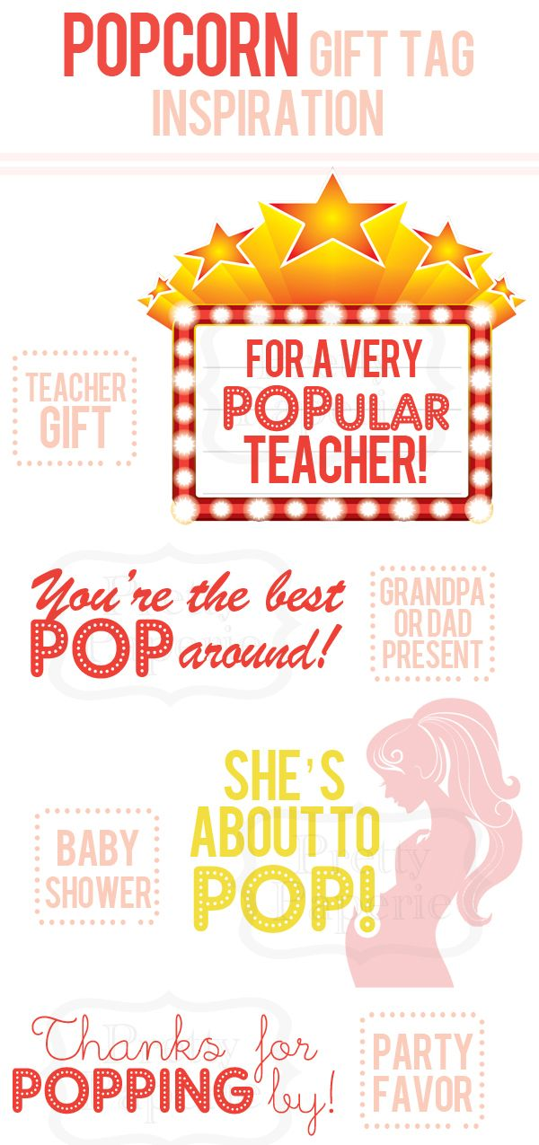 Thinking about giving a popcorn gift set to the teacher ...