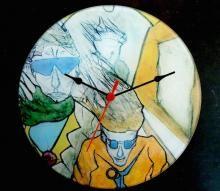 Deze klok kan je online bestellen in mijn webshop. www.art-4-u.eu
