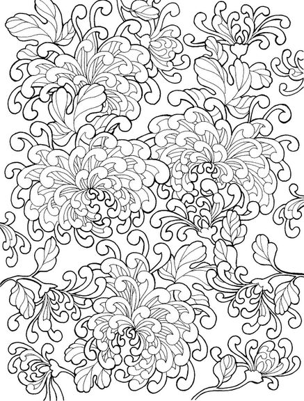 coloring for adults kleuren voor volwassenen - Coloring Paages
