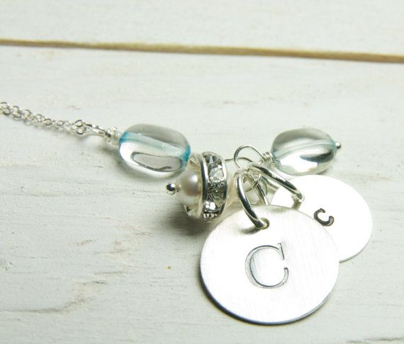 Personalized Mothers Necklace Mothers by LillyputLaneDesignCo, $58.50