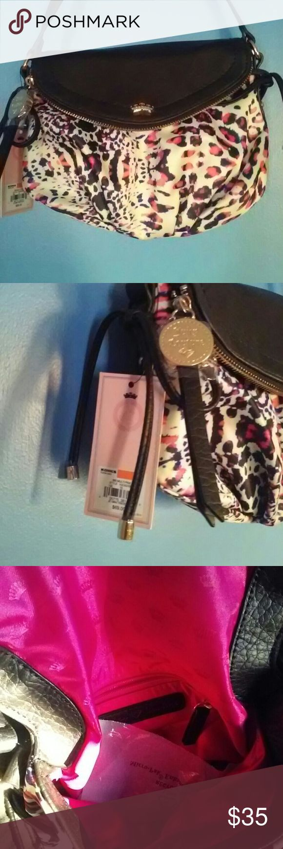 BNWT Juicy Couture Mini Crossbody Never used, brand new with tags Juicy Couture Bags Crossbody Bags