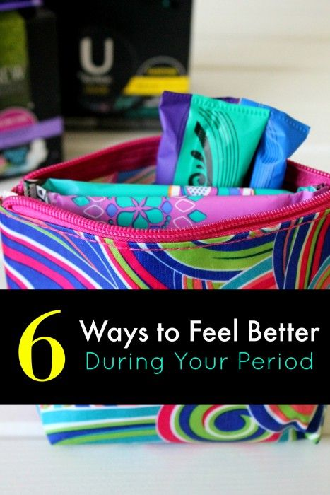 6 Ways to Feel Better During Your Period + Pampering Gift Basket Idea - Mom. Wife. Busy Life.
